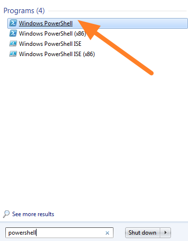 how to make powershell to start with elevated privileges